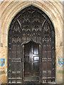 TF6120 : St Nicholas' Chapel in Kings Lynn - south doorway by Evelyn Simak
