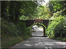 ST9898 : Railway bridge over the A433 by andrew auger