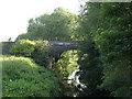 SJ7067 : Railway bridge over the River Dane by Stephen Craven