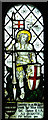 TG1905 : St Peter's church in Cringleford - war memorial window by Evelyn Simak