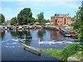 SK5914 : Sileby Mill and marina, River Soar by David P Howard