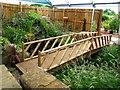 SD7212 : Wooden Footbridge by John Tustin