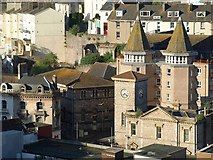 SX9163 : Old Town Hall and Tor Haven, Torquay by Derek Harper