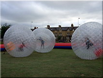 SP5206 : Zorbing in South Park by ceridwen