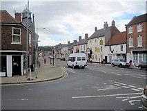 SK5993 : Main street at Tickhill by John Firth