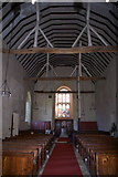 TL8240 : Interior of St Mary's Church, Belchamp Walter by Jeff Horne