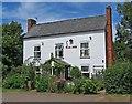 SO8060 : Fox Inn, Monkwood Green by P L Chadwick