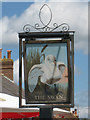 TQ9842 : The Swan sign by Oast House Archive