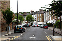 TQ3187 : Finsbury Park:  Florence Road by Dr Neil Clifton
