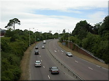 SZ0991 : Bournemouth, Wessex Way by Mike Faherty