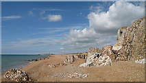TR1332 : Remains of Martello Tower number 19, Hythe by Oast House Archive
