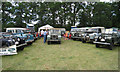 TQ9141 : Land Rovers at Darling Buds Classic Car Show by Oast House Archive