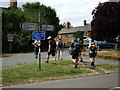 SP4857 : Junction of the Holloway and Southam Road, Priors Marston by John Brightley