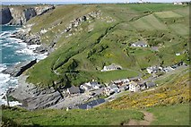 SX0486 : Trebarwith Strand by Tony Atkin