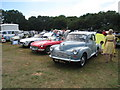 TQ9141 : Morris Minor & MG's at Darling Buds Classic Car Show  by Oast House Archive