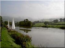 ST6967 : River Avon at Saltford weir by Neil Owen