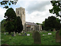 TG0635 : The church of St Lawrence in Hunworth by Evelyn Simak
