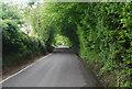 TQ3729 : Cinder Lane: south by N Chadwick