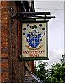 SJ6105 : Kynnersley Arms (pub sign) by P L Chadwick