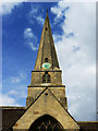 SO9422 : St Mary's Church spire, Cheltenham by Brian Robert Marshall