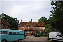 TG2105 : Brick cottage, Keswick Mill by N Chadwick