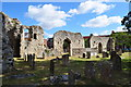 TM3389 : Bungay Priory (remains of) by Ashley Dace