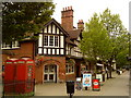 SP0481 : Bournville Village Trust shops on Sycamore Road by Andrew Abbott