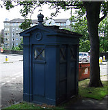 NT2273 : Police box by Thomas Nugent