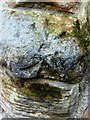 NY3955 : Abbey Gate benchmark by Roger Templeman
