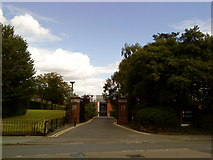 SP0583 : Entrance to Birmingham University Business School by Andrew Abbott