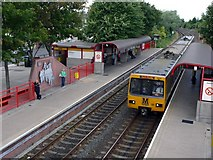 NZ3265 : Jarrow Metro Station by Andrew Curtis