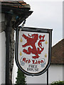 TR0660 : Red Lion sign by Oast House Archive