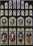 TM3389 : St Mary's church in Bungay - east window by Evelyn Simak