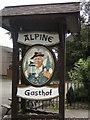 SD8914 : The Alpine Gasthof,  Rochdale by Ian S