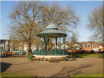 ST1774 : Bandstand, Grange Gardens, Cardiff by Jaggery