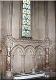TM3389 : The Catholic church of St Edmund, Bungay - inside the baptistery by Evelyn Simak