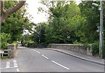 J3731 : Bridge over the Shimna River in Bryansford Road by Eric Jones