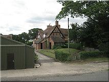 SP2160 : Timber-framed house, Glebe Farm by Robin Stott