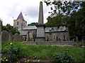 NZ1665 : Church of St. Michael & All Angels, Newburn by Andrew Curtis