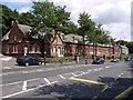 NZ1665 : Almshouses, High Street, Newburn by Andrew Curtis