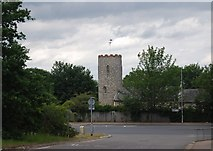 TG1807 : Church tower, St Andrew's, Colney by N Chadwick