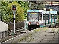 SD8010 : Metrolink Tramway At Bury Station by David Dixon