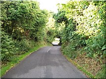 J3633 : View north-eastwards along Church Hill Road by Eric Jones