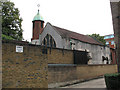 TQ3279 : East end of All Hallows Church by Stephen Craven