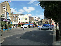 TQ3179 : Looking from Baylis Road across to Lower Marsh by Basher Eyre