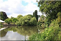 SP8633 : The Lake, Bletchley Park by Paul Buckingham