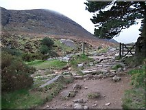J3629 : Approaching the mountain gate by Eric Jones