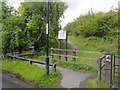 NZ1765 : Entrance to Walbottle Brickworks Local Nature Reserve by Andrew Curtis