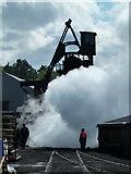 NZ8204 : A good clear out! by Chris Allen