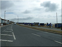 TQ1602 : Charity walkers reach East Worthing (1) by Basher Eyre